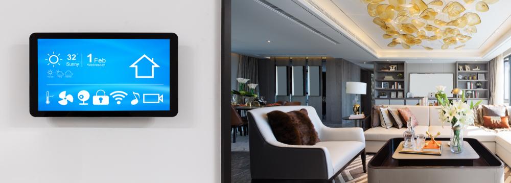 builder digital signage for builders model homes